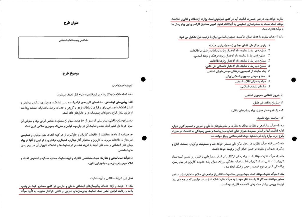 حبس برای ایجاد کانال در تلگرام